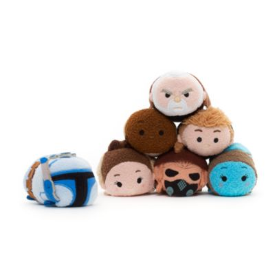 Peluche Tsum Tsum mini de Mace Windu, de Star Wars