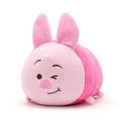 Peluche Tsum Tsum Porcinet clignant de l'oeil de taille moyenne, Winnie l'Ourson