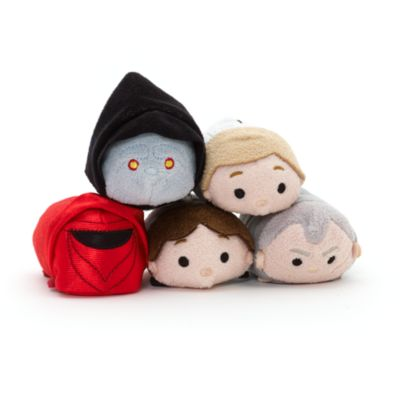 Luke Skywalker Stormtrooper Tsum Tsum Mini Soft Toy, Star Wars