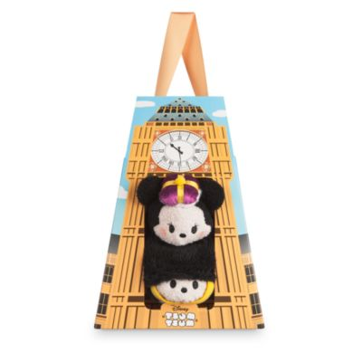 Mickey and Minnie Mouse London Themed Mini Tsum Tsum Soft Toys