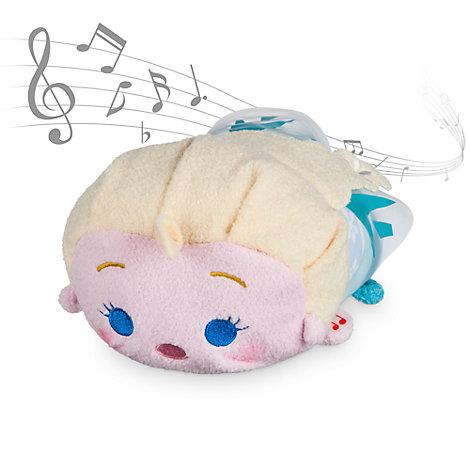 Elsa musikalsk Tsum Tsum-plysdukke fra Frozen
