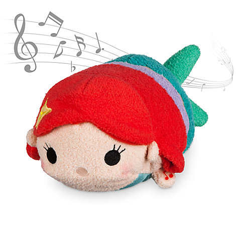 Ariel musikalsk Tsum Tsum-plysdukke; Den lille havfrue