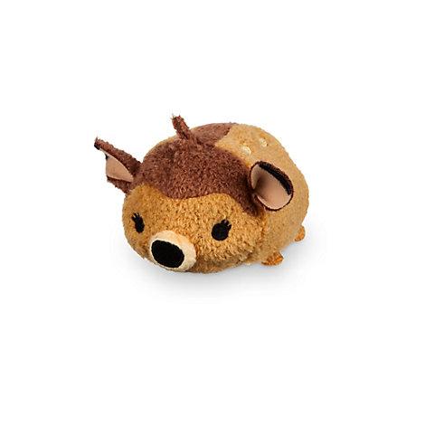 Minipeluche Tsum Tsum de Bambi con una mariposa