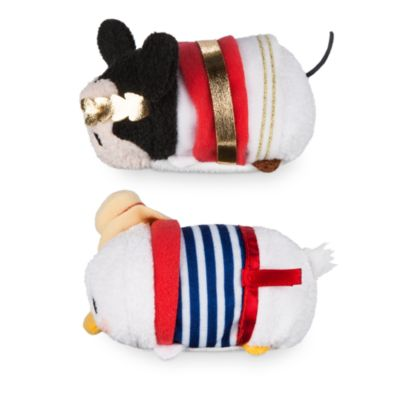 Lille Mickey Mouse og Anders And Tsum Tsum plysdyr med Rom-tema