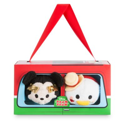 Mickey Mouse and Donald Duck Rome Themed Mini Tsum Tsum Soft Toys