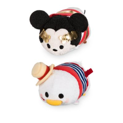 Mini peluches Tsum Tsum Mickey et Donald à Rome