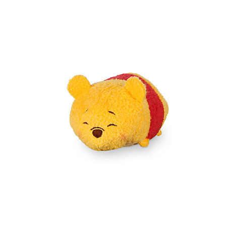Mini peluche tsum tsum di winnie the pooh che dorme for Winnie pooh ka che
