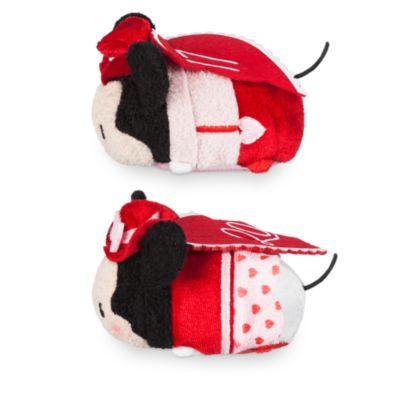Små duftende Mickey og Minnie Tsum Tsum-dukker til valentins