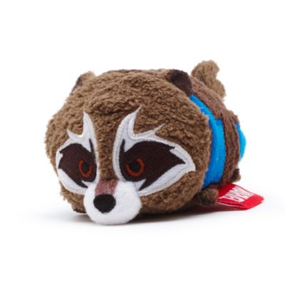 Rocket Raccoon Tsum Tsum Mini Soft Toy, Guardians of the Galaxy Vol. 2