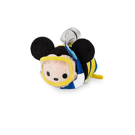 Lille Mickey Mouse Holiday Tsum Tsum plysdyr