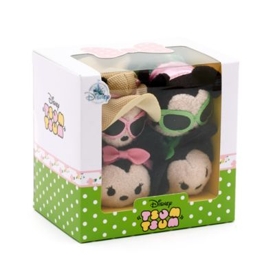 Minnie Mouse Dress Up Tsum Tsum Mini Soft Toy Set