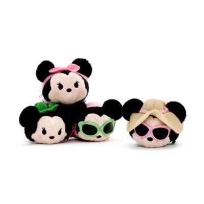 Set de mini peluches Tsum Tsum de Minnie con diferentes vestidos
