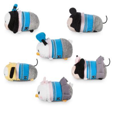 Mini peluche Tsum Tsum 30° Anniversario del Disney Store, set di 6