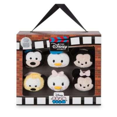 Set de seis mini peluches Tsum Tsum del 30º Aniversario de Disney Store