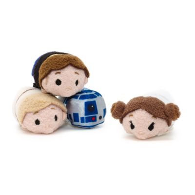 Star Wars 40th Anniversary - Disney Tsum Tsum Mikroplüschset