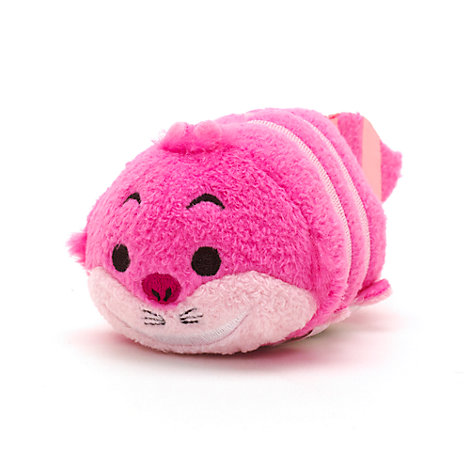 Cheshire Cat Tsum Tsum Mini Soft Toy, Alice In Wonderland