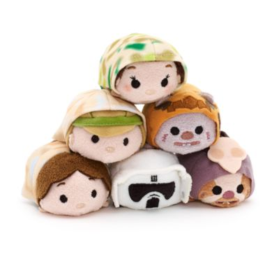 Luke Skywalker on Endor Tsum Tsum Mini Soft Toy, Star Wars