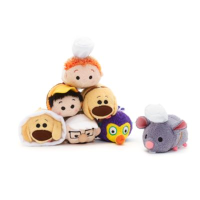 Dug Cone of Shame Mini Tsum Tsum Soft Toy, Up!
