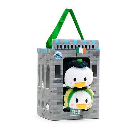 Conjunto de mini peluches Tsum Tsum Irlanda Daisy y el pato Donald