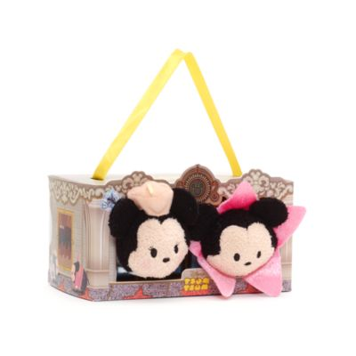 Ensemble de mini peluches Tsum Tsum Mickey et Minnie à Los Angeles
