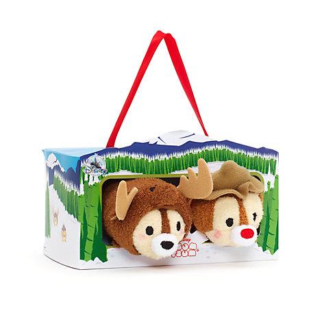 Piff och Puff, set med små Tsum Tsum-gosedockor med Kanada-tema