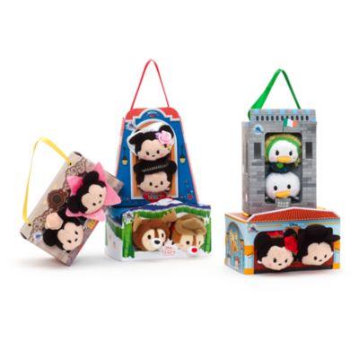 Conjunto de mini peluches Tsum Tsum México Minnie y Mickey Mouse