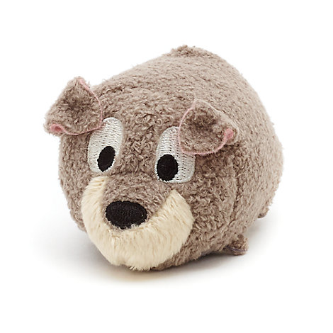 Mini peluche Tsum Tsum Clochard, La Belle et le Clochard