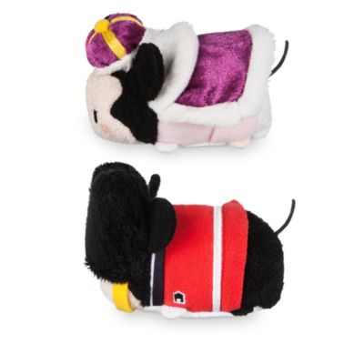 Mini peluches Tsum Tsum Londres Minnie y Mickey Mouse