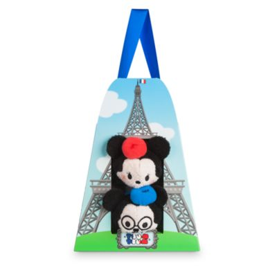 Disney Tsum Tsum Miniplüsch - Micky und Minnie Maus Paris