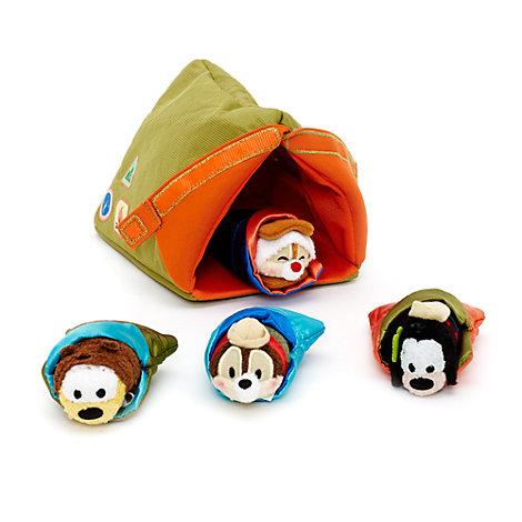 Disney Tsum Tsum Mikroplüsch - Campingzeltset