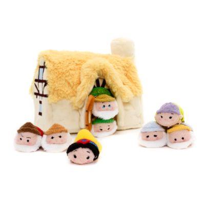 Snövit och de sju dvärgarna, set med Tsum Tsum-mikrogosedockor