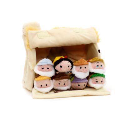 Ensemble de micro peluches Tsum Tsum Blanche Neige et les Sept Nains