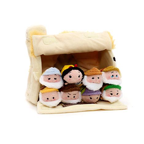 Disney Tsum Tsum Kuscheltier-Set mikro - Schneewittchen und die sieben Zwerge