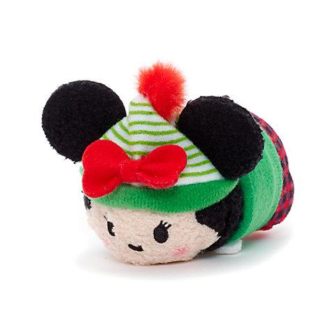 Minnie Mouse Festive Tsum Tsum Mini Soft Toy
