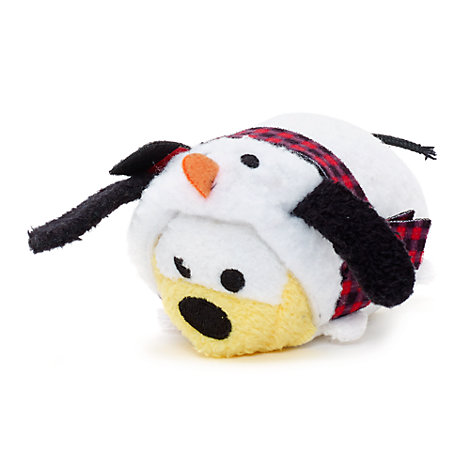 Pluto Festive Tsum Tsum Mini Soft Toy