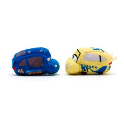 Ensemble de 2 mini peluches Tsum Tsum, Disney Pixar Cars 3