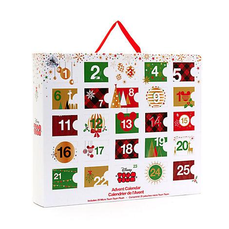 calendrier de l'avent à micro peluches tsum tsum