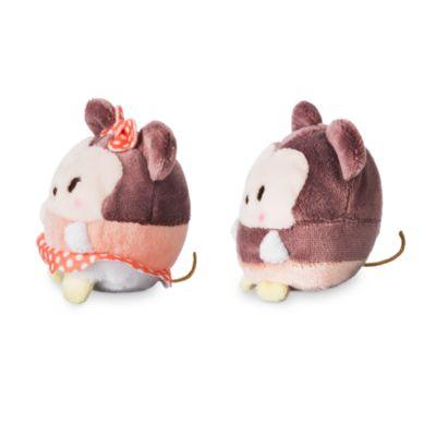Juego de minipeluches Ufufy Minnie y Mickey