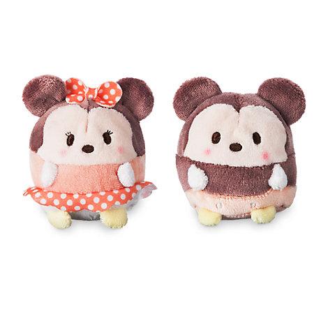 Ensemble de peluches miniatures Ufufy parfumées Mickey et Minnie
