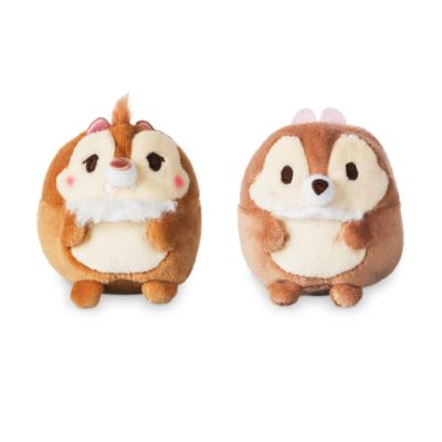 Chip 'n' Dale Ufufy Mini Soft Toy Set