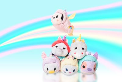 Marie Unicorn Tsum Tsum Mini Soft Toy