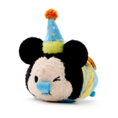 Mickey Mouse Birthday Tsum Tsum Mini Soft Toy