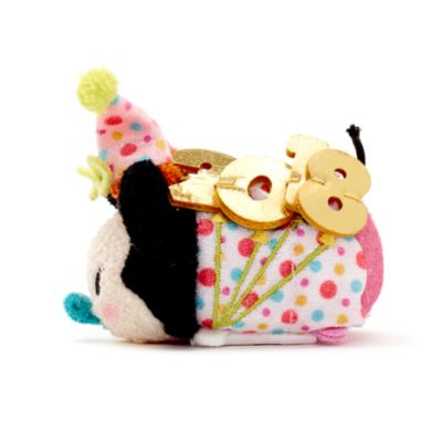 Disney Tsum Tsum - Minnie Maus - Geburtstags-Kuscheltier
