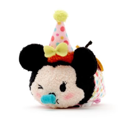 Minnie Mouse Birthday Tsum Tsum Mini Soft Toy