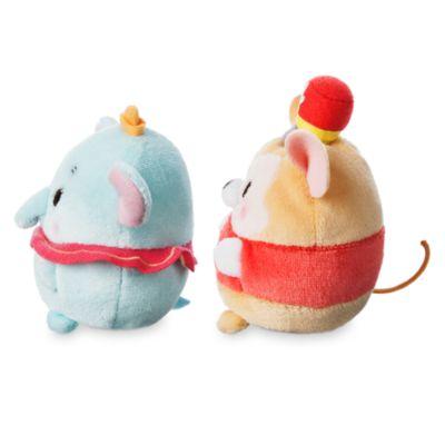 Dumbo and Timothy Mini Ufufy Soft Toy Set