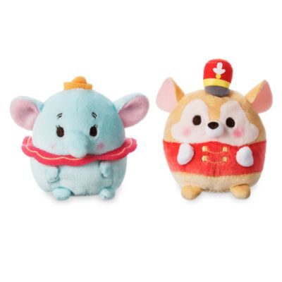 Set peluche mini Ufufy Dumbo e Timothy