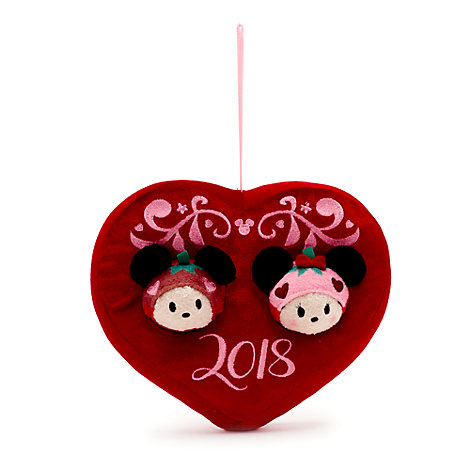 Set mini peluches  de novios Tsum Tsum Minnie y Mickey Mouse