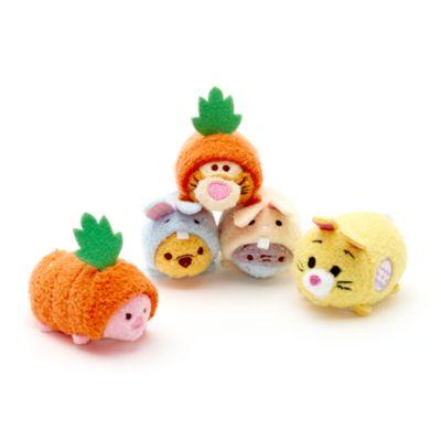 Set minipeluches Tsum Tsum de Pascua Winnie The Pooh y amigos