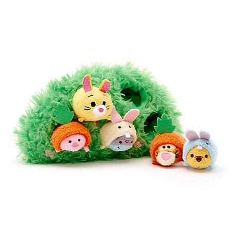 Winnie The Pooh and Friends Easter Tsum Tsum Set