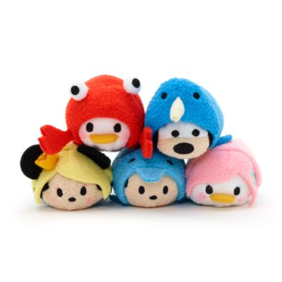 Mickey Mouse Summer Sea Life Tsum Tsum Mini Soft Toy